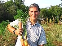 The Museum Curator, John with his Polish Carrots - collectors